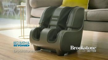 Brookstone TheraSqueeze Foot & Calf Massager TV Spot, 'Always On the Go'
