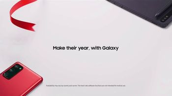 Samsung Galaxy TV Spot, 'Holidays: Make Their Year, With Galaxy Tab S7+' Song by The Morning Benders - Thumbnail 8