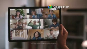Samsung Galaxy TV Spot, 'Holidays: Make Their Year, With Galaxy Tab S7+' Song by The Morning Benders - Thumbnail 7