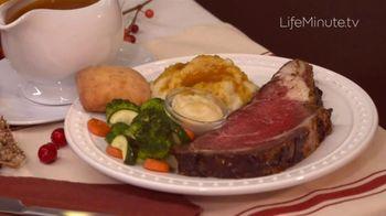 LifeMinute TV TV Spot, 'Boston Market Thanksgiving Meals'