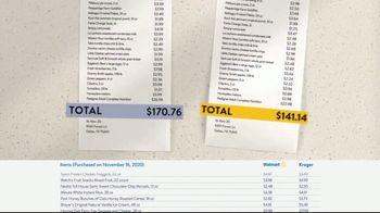 Walmart TV Spot, 'Grocery Pros in Dallas: 17% Savings' - Thumbnail 3