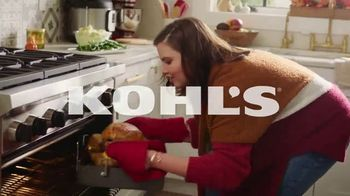 Kohl's TV Spot, 'Cozy Must Haves, Holiday Decor and Food Network' - Thumbnail 2