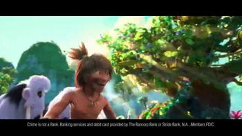 Chime TV Spot, 'The Croods: Tired of Getting Slapped' - Thumbnail 4