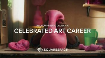Squarespace TV Spot, 'All You Need to Launch a Celebrated Art Career'