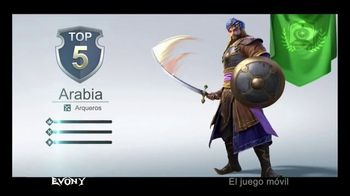 Evony: The King's Return TV Spot, 'Descárgalo ahora' [Spanish]