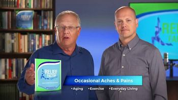 Relief Factor 3-Week Quickstart TV Spot, 'Four Key Ingredients: Joan'