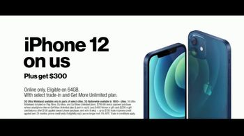 Verizon Black Friday TV Spot, 'The 5G America's Been Waiting For: iPhone 12 on Us' - Thumbnail 7