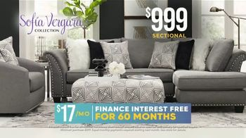 Rooms to Go Holiday Sale TV Spot, '$999 Sofia Vergara Collection Sectional' - Thumbnail 5
