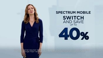Spectrum Mobile TV Spot, 'Switch and Save up to 40%' - Thumbnail 5