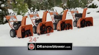 DR Power Equipment Snow Blower TV Spot, 'Ready for Winter'