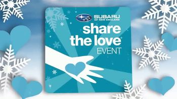 Subaru Share the Love Event TV Spot, 'Winter Wonderland' [T2] - Thumbnail 3