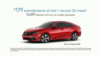 Happy Honda Days Sales Event TV Spot, 'Momentos de ayuda: llegamos para ayudar' [Spanish] [T2] - Thumbnail 8