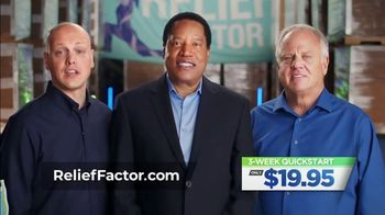 Relief Factor 3-Week Quickstart TV Spot, 'Drew' Featuring Larry Elder - 122 commercial airings
