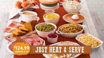 Bob Evans Restaurants Farmhouse Feast TV Spot, 'Thanksgiving: Feeds Up to 10'