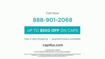 Capillus Cool Winter Sale TV Spot, 'Treat Hair Loss At Home: $500' - Thumbnail 10