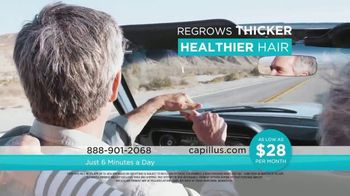 Capillus Cool Winter Sale TV Spot, 'Treat Hair Loss At Home: $500' - Thumbnail 3