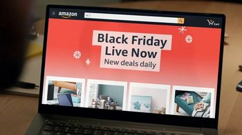 Amazon Black Friday TV Spot, 'Spend Less Smile More: Cam'