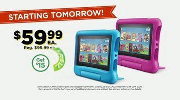Kohl's Black Friday Deals TV Spot, 'Amazon Tablet, Echo Show and Shark' - Thumbnail 7