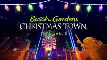 Busch Gardens Black Friday Sale TV Spot, 'Christmas Town: 2021 Fun Card'