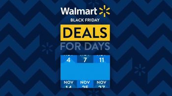 Walmart Black Friday TV Spot, 'Deals for Days: Nintendo Switch Bundle'