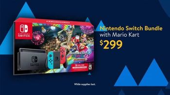 Walmart Black Friday Deals for Days TV Spot, 'Nintendo Switch Bundle' Song by Aretha Franklin - Thumbnail 4