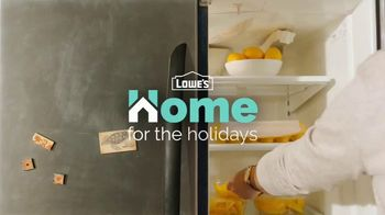 Lowe's TV Spot, 'Home for the Holidays: Whirlpool Appliances: $700' - Thumbnail 1