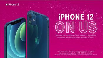 T-Mobile TV Spot, 'Holidays: Apple iPhone 12 on Us' - Thumbnail 4