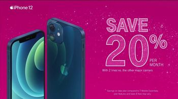 T-Mobile TV Spot, 'Holidays: Apple iPhone 12 on Us' - Thumbnail 5