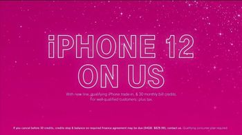 T-Mobile TV Spot, 'Holidays: Apple iPhone 12 on Us' - Thumbnail 7