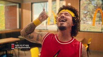 McDonald's TV Spot, 'Dorado: baloncesto' con J Balvin, canción de J Balvin [Spanish] - 3 commercial airings