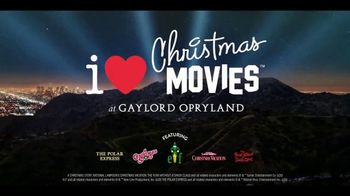 Gaylord Hotels TV Spot, 'I Love Christmas Movies' - 6 commercial airings
