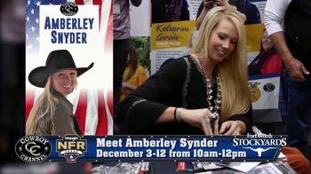Wrangler National Finals Rodeo TV Spot, 'Meet Amberley Snyder'