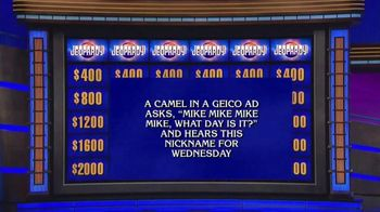GEICO TV Spot, 'Jeopardy!: Hump Day' - Thumbnail 2