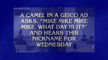 GEICO TV Spot, 'Jeopardy!: Hump Day' - Thumbnail 3