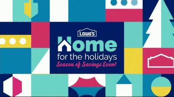 Lowe's Season of Savings Event TV Spot, 'Home for the Holidays: Stylish Gifts' - Thumbnail 2