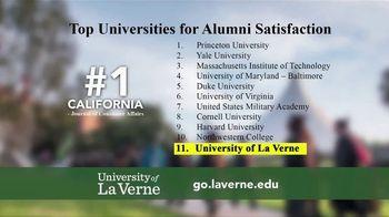 University of La Verne TV Spot, 'Better Job'