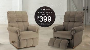 La-Z-Boy Black Friday Sale TV Spot, 'Recliners: $399' - Thumbnail 4