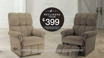 La-Z-Boy Black Friday Sale TV Spot, 'Recliners: $399' - Thumbnail 5