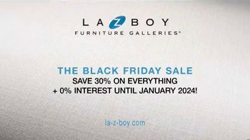 La-Z-Boy Black Friday Sale TV Spot, 'Too Big for One Day: Save 30% on Everything' - Thumbnail 9