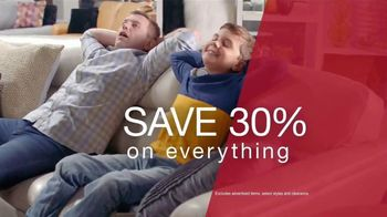 La-Z-Boy Black Friday Sale TV Spot, \'Too Big for One Day: Save 30% on Everything\'