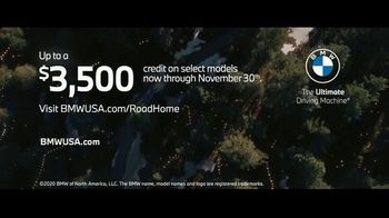 BMW Road Home Sales Event TV Spot, 'Light Your Way Home' Song by Bloom & The Bliss  [T1] - Thumbnail 7