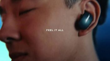 Bose QuietComfort Earbuds TV Spot, 'Feel It All' Song by Super Duper
