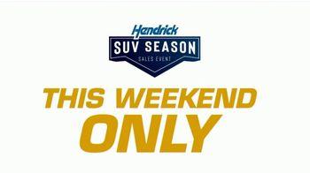 Hendrick Automotive Group SUV Season Sales Event TV Spot, 'It's Back'