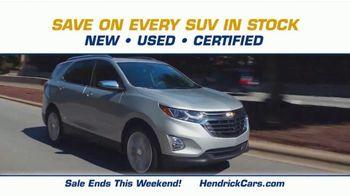 Hendrick Automotive Group SUV Season Sales Event TV Spot, 'It's Back' - Thumbnail 4