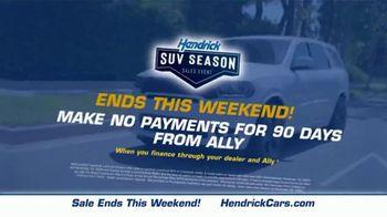 Hendrick Automotive Group SUV Season Sales Event TV Spot, 'It's Back' - Thumbnail 9