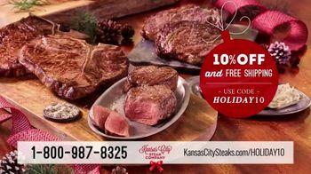 Kansas City Steak Company TV Spot, 'Holiday: Premium Gifts'
