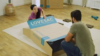 Lovesac Sactionals TV Spot, 'Our Showrooms Are Open' Song by Forever Friends - Thumbnail 1