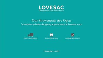 Lovesac Sactionals TV Spot, 'Our Showrooms Are Open' Song by Forever Friends - Thumbnail 10