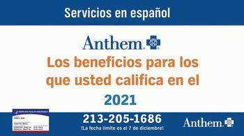 Anthem Blue Cross and Blue Shield Medicare Plans TV Spot, 'Atención' [Spanish]