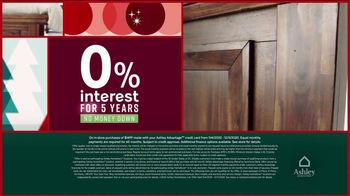 Ashley HomeStore Black Friday Deal Days TV Spot, 'Daily Deals and 0% Interest' - Thumbnail 3